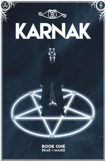 Karnak Book 1 - Cover Art