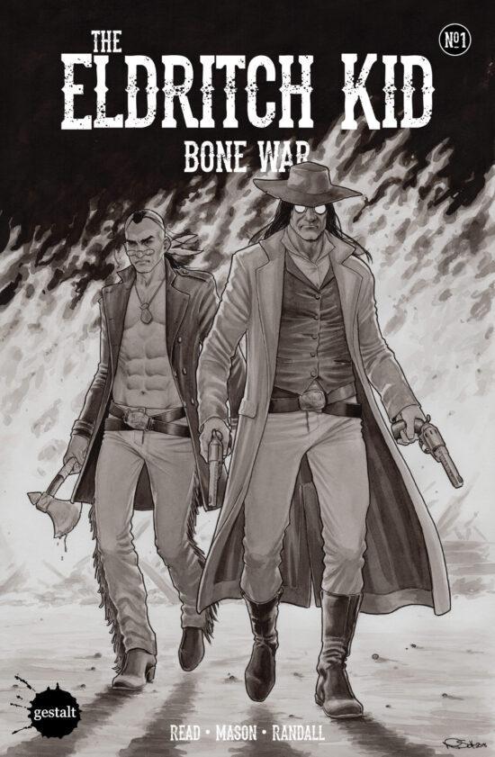 Eldritch Kid Bone War #01 - Cover Art