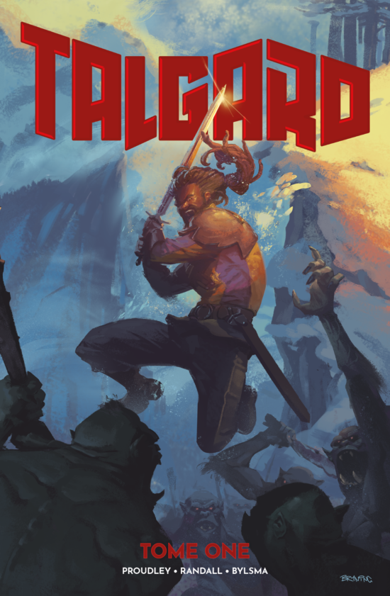 Talgard Tome One - Cover Art