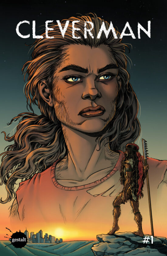 Cleverman #1 - Cover Art
