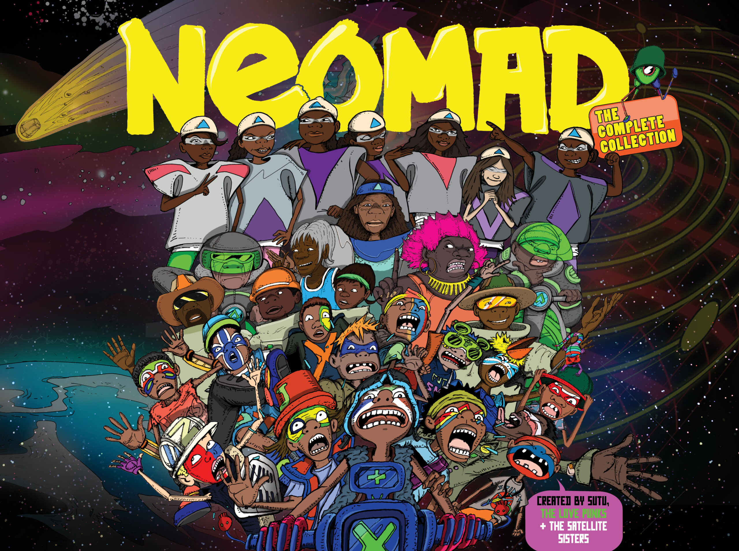 NEOMAD Complete Collection - Cover Art