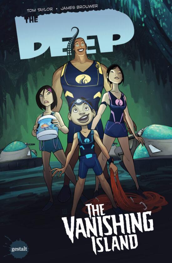 The Deep Vol. 02 - The Vanishing Island - Cover Art